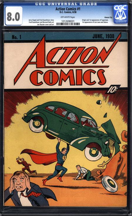 action comics 1 Action Comics #1 ist jetzt offiziell der teuerste Comic der Welt