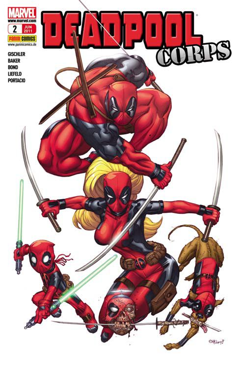 Comicreview – Deadpool Sonderband 2: Deadpool Corps