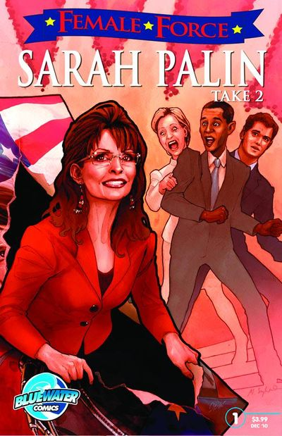 Comicreview: Female Force #22 Sarah Palin Pt. 2