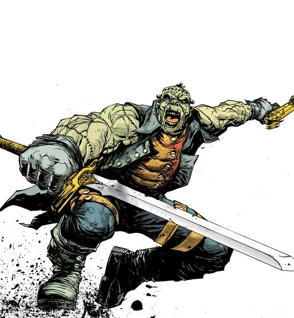 frankenstein comic cover 1 DC Reboot: Die ersten Cover zu bekannten Serien – Teil 3