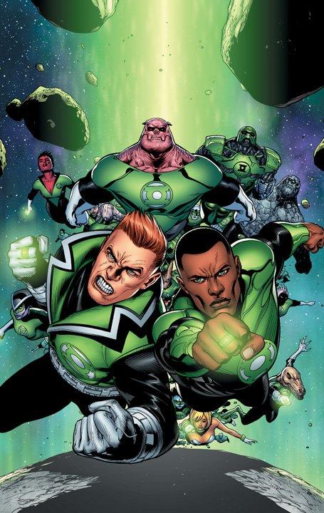 green lantern corps cover 1 DC Reboot: Die ersten Cover zu bekannten Serien – Teil 7 (Green Lantern Edition)