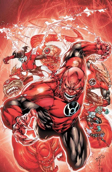 red lantern corps cover 1 DC Reboot: Die ersten Cover zu bekannt
