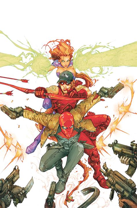 red hood cover 1 DC Reboot: Die ersten Cover zu bekannten Serien – Teil 3