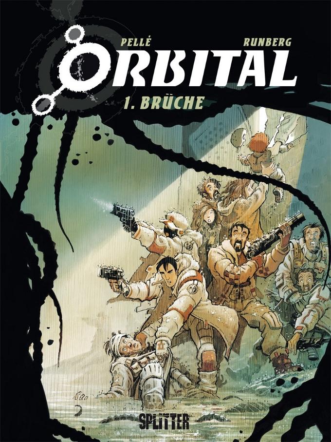 Comicreview: Orbital Band1 – Brüche