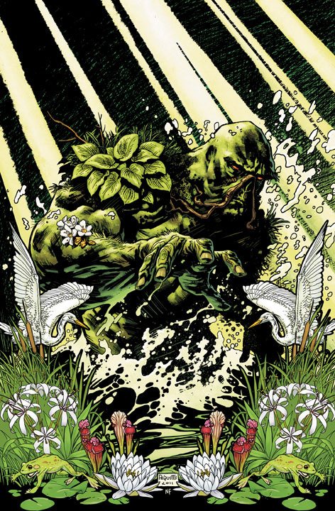 swamp thing comic cover 1 DC Reboot: Die ersten Cover zu bekannten Serien – Teil 3