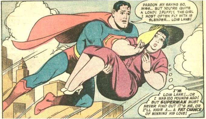 lois lane superman 680x392 Gratis Komplett Comic: Als Lois Lane dick und Superman ein Arsch war