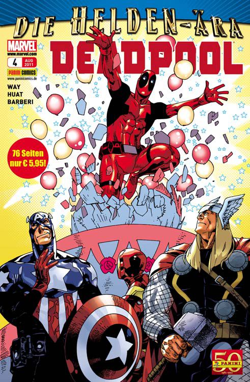 Comicreview: Deadpool #4