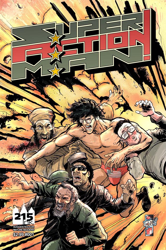 Comicreview: Super Action Man #1