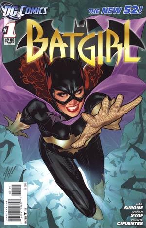 DCnU-Comicreview: Batgirl #1