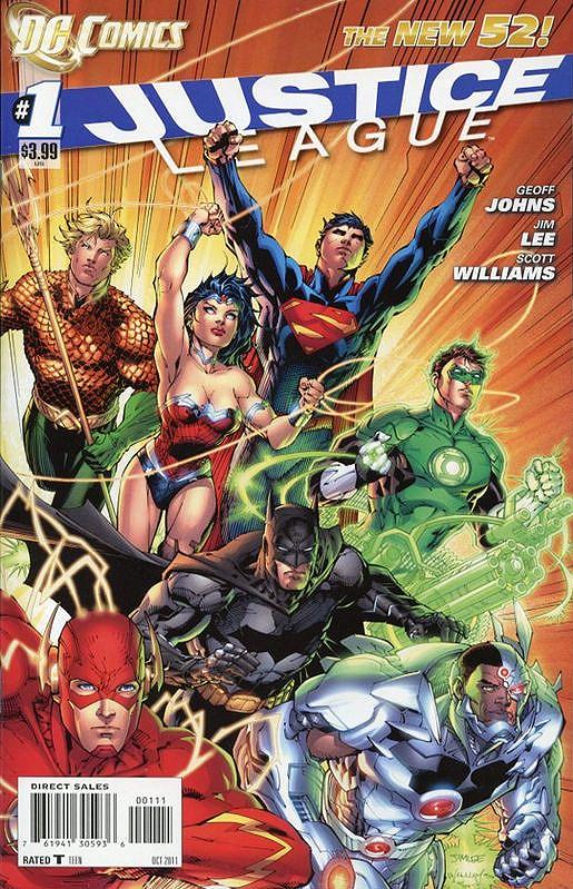 DCnU-Comic-Review: Justice League #1