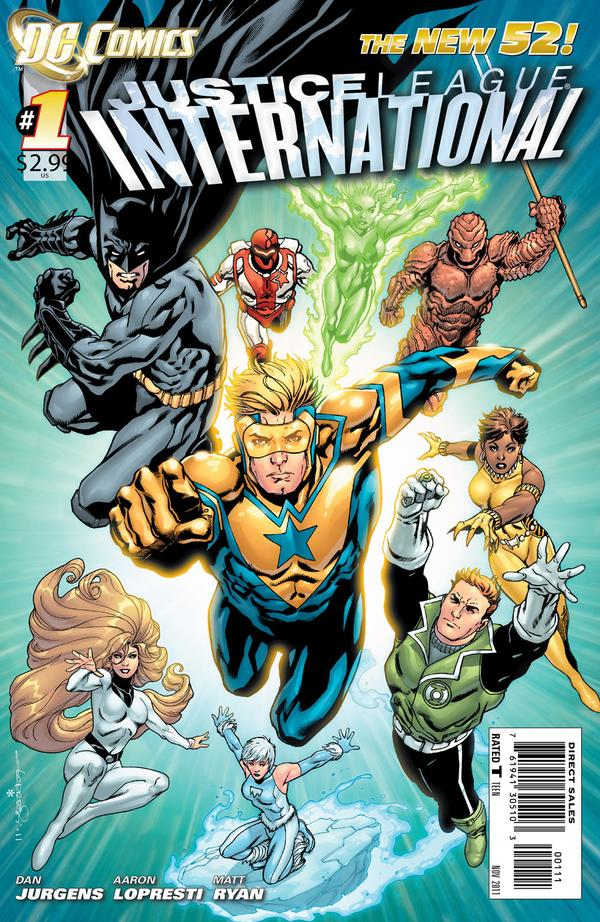 "DCnU-Comicreview: ""Justice League International #1"""