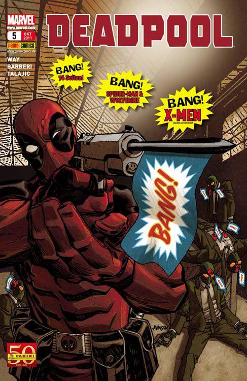Comicreview: Deadpool 5