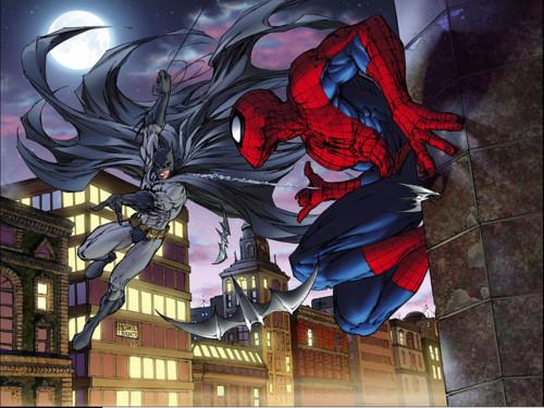 spiderman batman1 Update:DC und Marvel kündigen Spider Man/Batman Crossover für April an