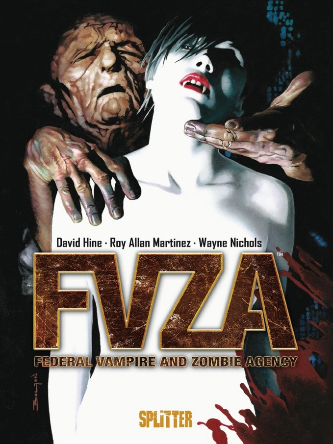 Zombiegespickte und vampirverseuchte Comicreview: FVZA