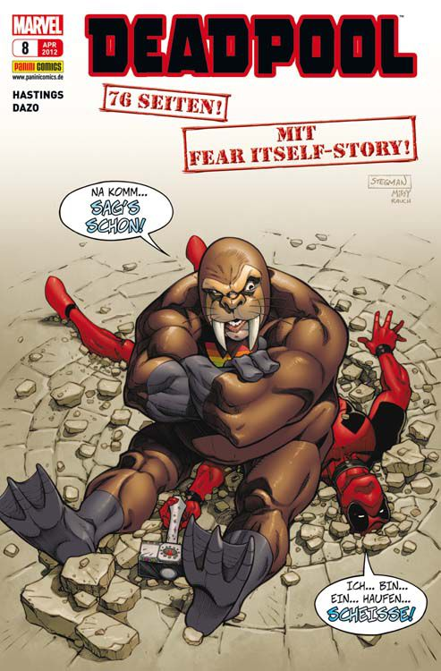 Comicreview: Deadpool #8