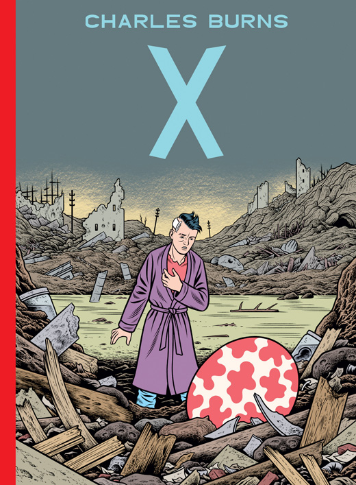 "Comicreview: ""X"" von Charles Burns"