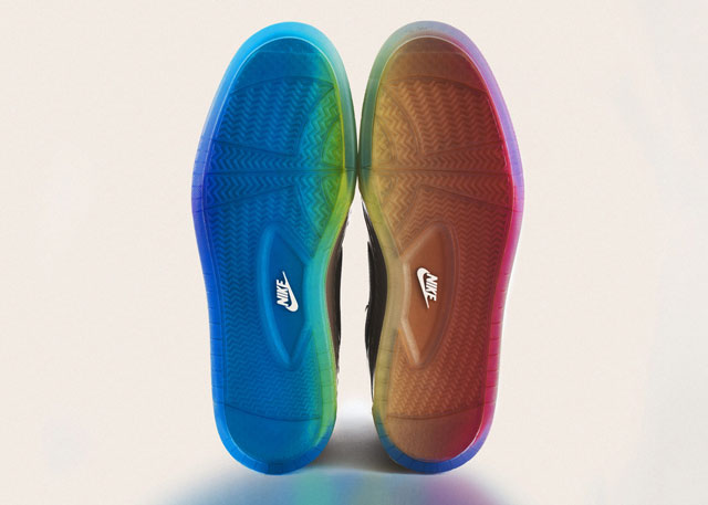 BETRUE AirRoyal Sole detail1 Rainbow Pride Footwear, Inspired by the LGBT Community
