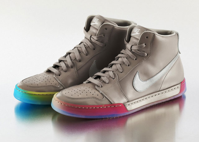 BETRUE AirRoyal detail1 Rainbow Pride Footwear, Inspired by the LGBT Community