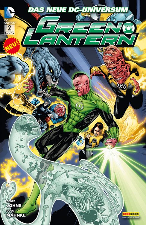 Comicreview: Green Lantern #2