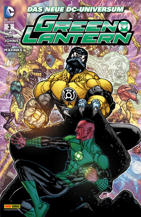 Comicreview: Green Lantern #3
