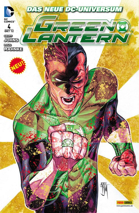 Comicreview: Green Lantern #4
