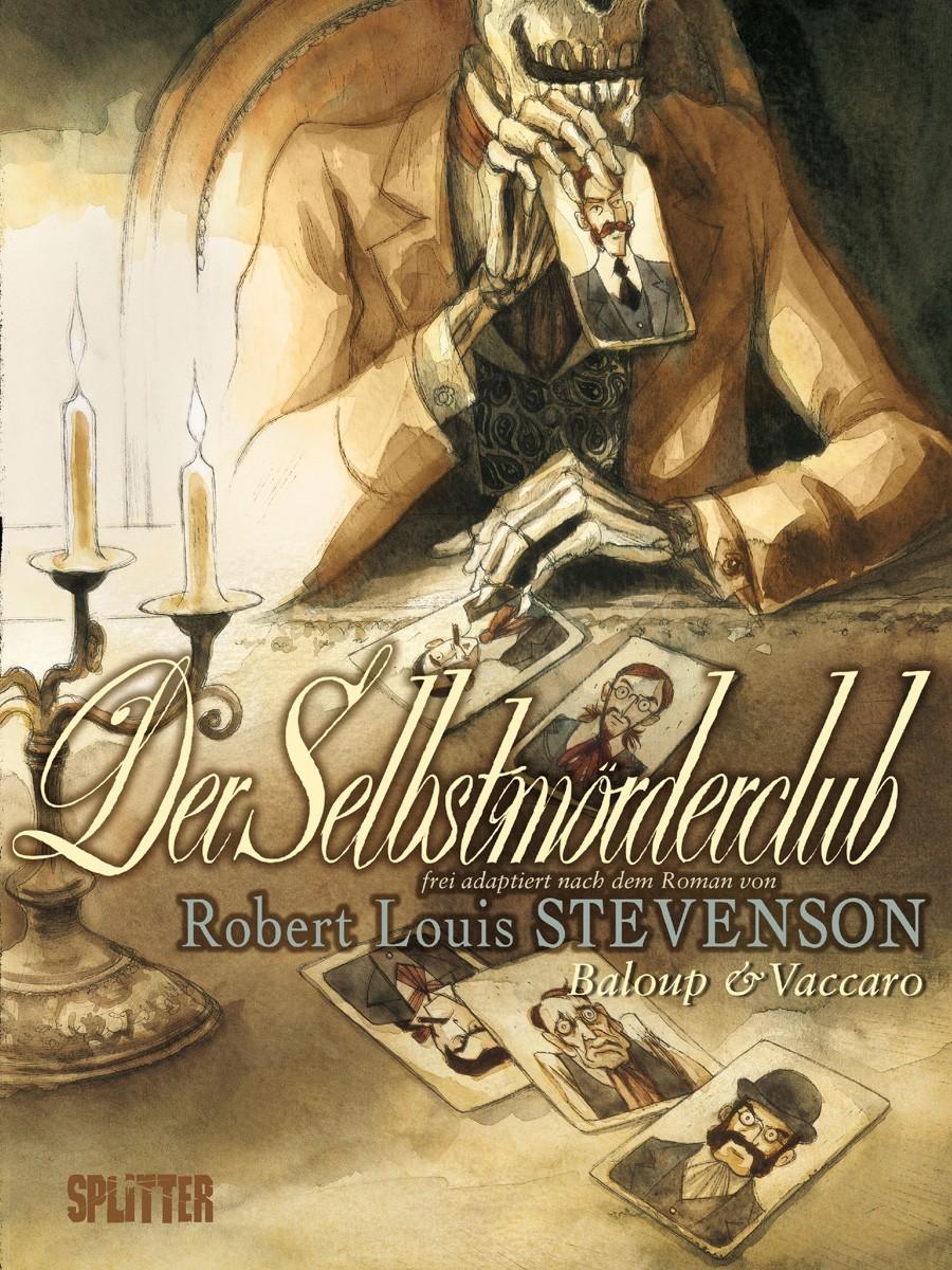Comicreview: Der Selbstmörderclub von Robert Louis Stevenson