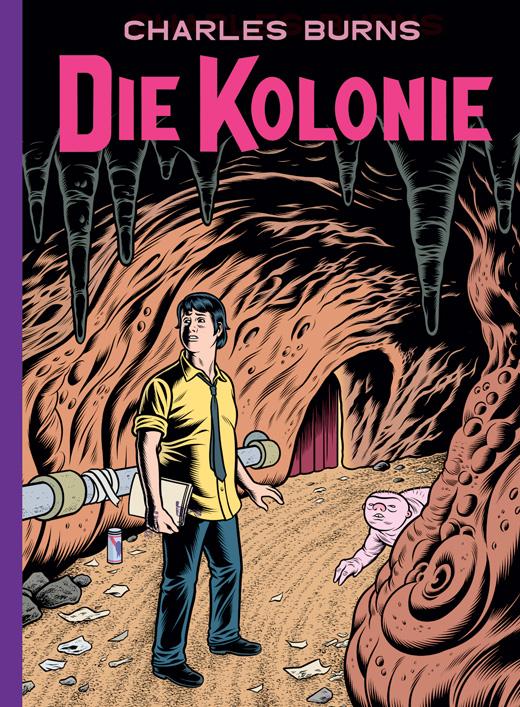 "Comicreview: ""Die Kolonie"" von Charles Burns"