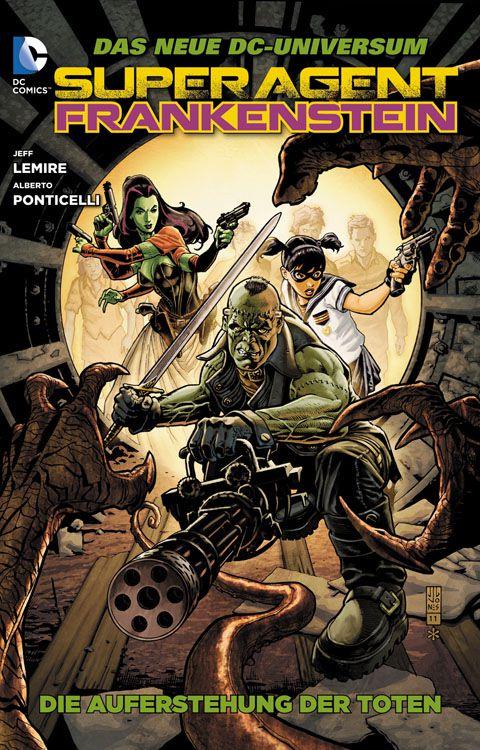 "Comicreview: ""Superagent Frankenstein"" Band 1"