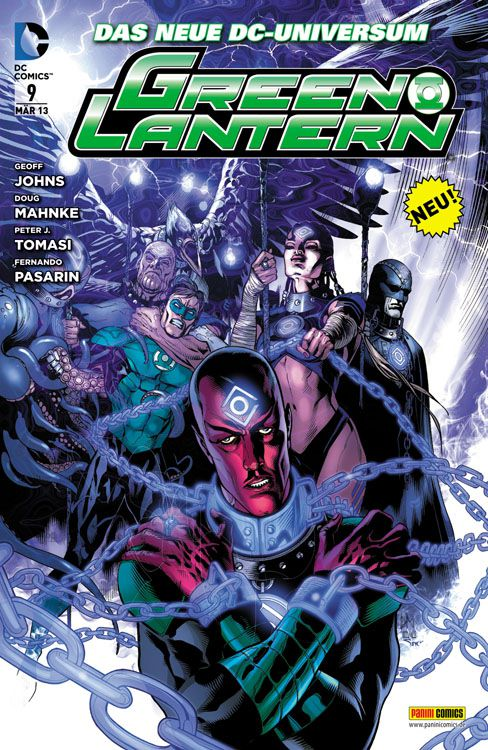 Comicreview: Green Lantern #9