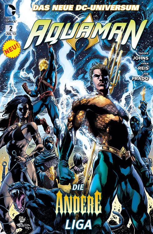 Comicreview: Aquaman 2 – Die andere Liga
