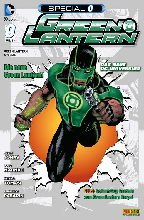 Comicreview: Green Lantern #0