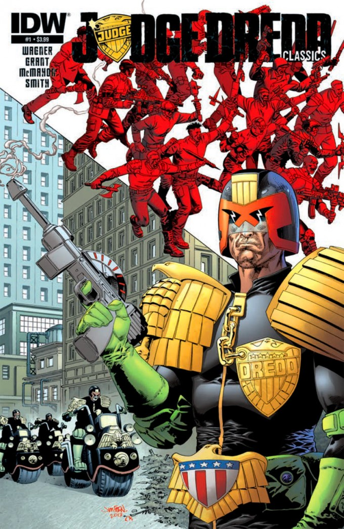 JDredd Classics 01 pr 1 c89dc1 680x1045 Meine Comickäufe vom 10.07.2013 (Judge Dredd, Justice League, Daredevil, Ten Grand, Sheltered)