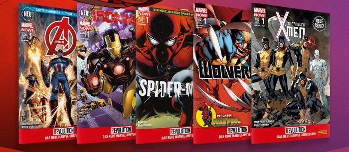 Die Reviews zu Marvel Now! bei Panini – Spider-Man, Hulk, Iron Man, Avengers, Wolverine, Deadpool, X-Men, sie sind alle da!