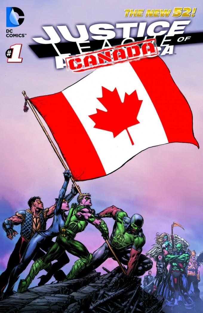 13772565951 680x1047 Die Justice League of America zieht nach Kanada und Lobo wird zum Männermodel