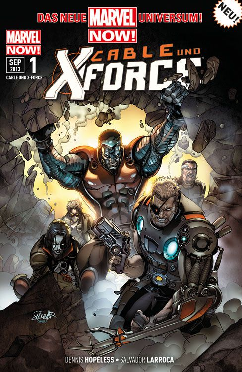 """Comicreview: """"Cable & X-Force"""" Band 1"""