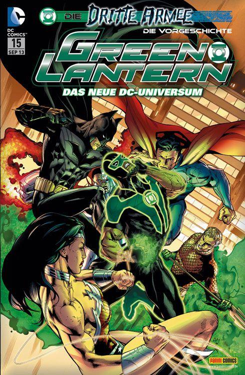 Comicreview: Green Lantern #15