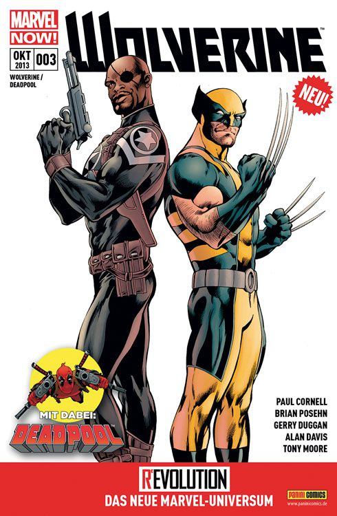 "Marvel Comicreview Now! – ""Wolverine und Deadpool #3?"