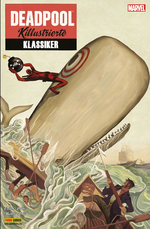 Comicreview: Deadpool – Killustrierte Klassiker
