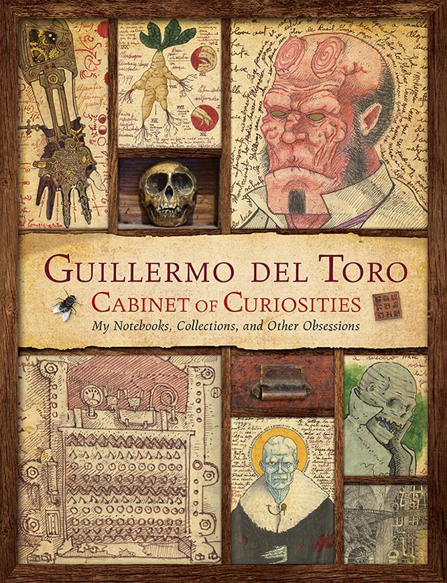 del toro cabinet of curiosities book cover1 Guillermo del Toro veröffentlicht sein Notizbuch als Cabinet of Curiosities