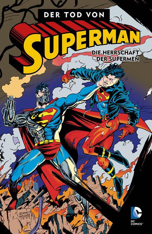 Comicreview: Der Tod von Superman 3 – Die Herrschaft der Supermen