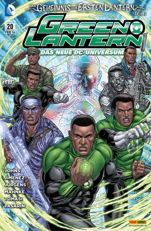 Comicreview: Green Lantern #20