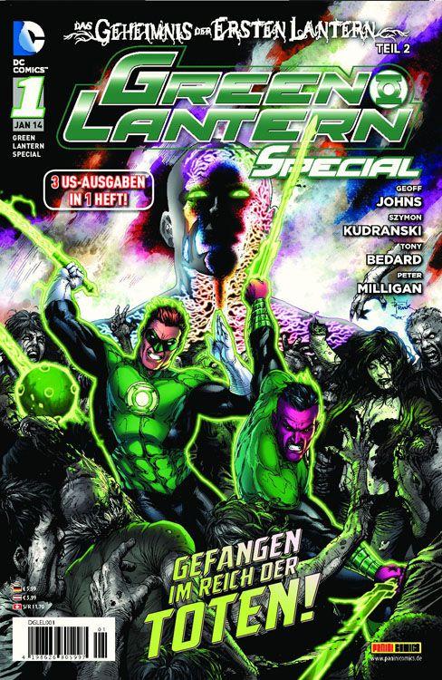 Comicreview: Green Lantern Special #1: Das Geheimnis der ersten Lantern