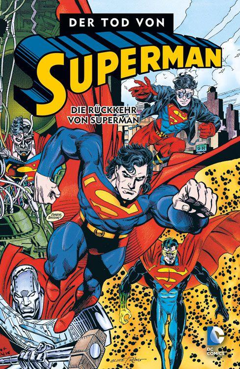 Comicreview: Der Tod von Superman 4 – Die Rückkehr von Superman