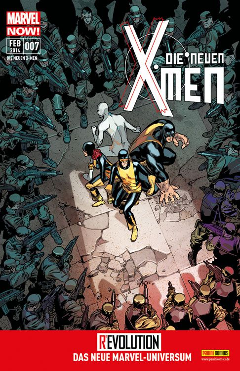 Comicreview Now! Die neuen X-Men 7