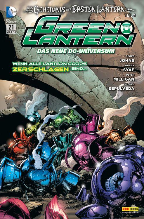 Comicreview: Green Lantern #21