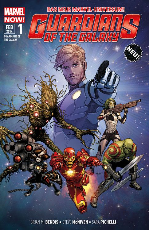 "Comicreview: ""Guardians of the Galaxy"" Band 1"