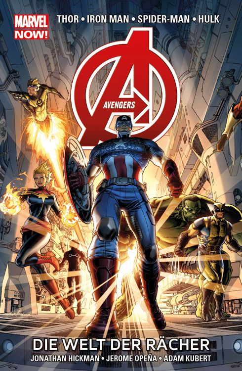 "Comicreview Now! ""The Avengers – Die Welt der Rächer"" Band 1"