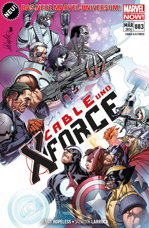 Comicreview: Cable & X-Force