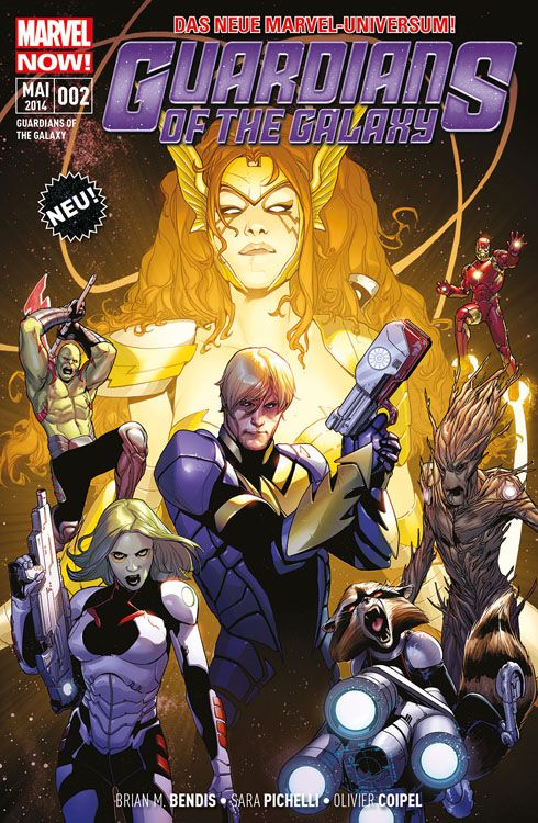 "Comicreview: ""Guardians of the Galaxy – Kriegerin des Himmels"" Band 2"