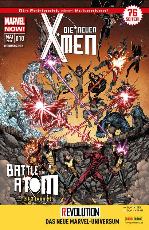 Comicreview: Die neuen X-Men #10